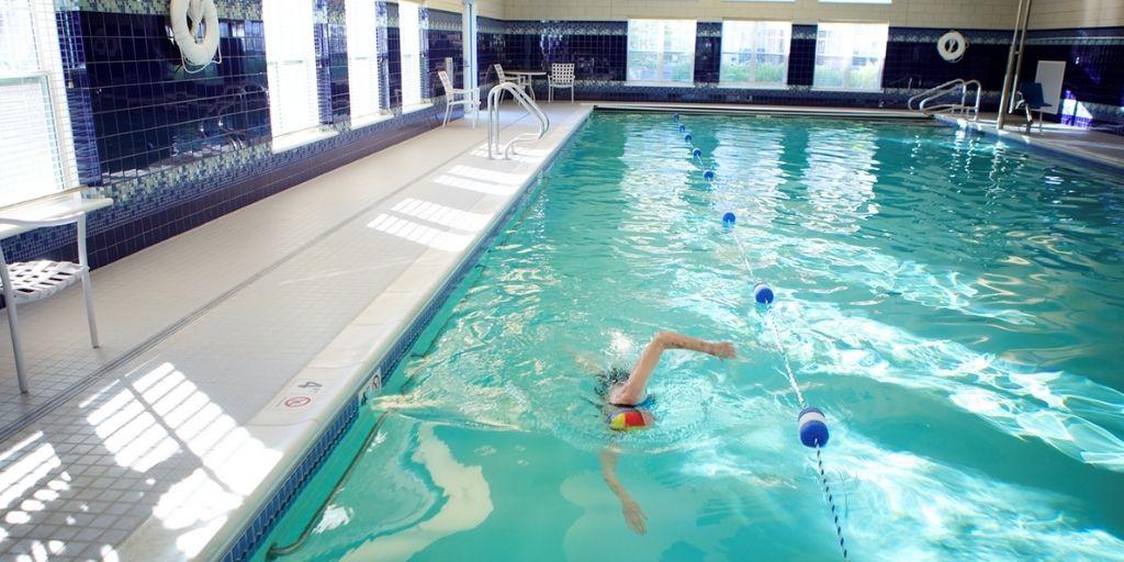 pool at RiverWoods